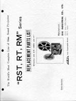 Eiki RST, RT & RM 16mm Projector Service and Parts Manual