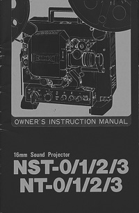 Eiki 16MM NST and NT Projector Owners Manual