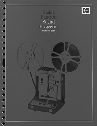 Kodak Pageant Sound 16mm Movie Projector Model AV-12E6 Owners Manual