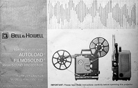 Bell & Howell Autoload Filmosound 16mm - 1585, 1590 & 1592 Owners Manual