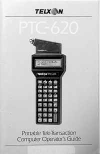 Telxon PTC-620 Barcode Scanner Owners Manual