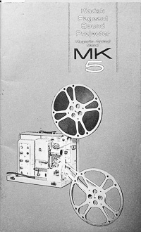 Kodak Pageant Sound Projector MK5 Owners Manual