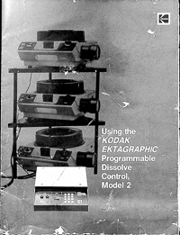 Kodak Ektagraphic Programmable Dissolve Control Model 2 Owners Manual