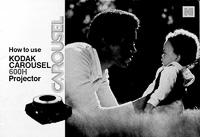 Kodak Carousel 600H Slide Projector Owners Manual