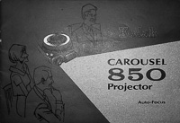 Kodak Carousel 850 Auto-Focus Slide Projector Owners Manual