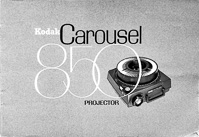 Kodak Carousel 850 Slide Projector Owners Manual