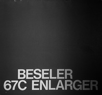 Beseler 67C Photo Enlarger Owners Manual