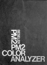 Beseler PM2 Color Analyzer Owners Manual