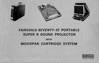 Fairchild Seventy-07 Portable Super 8 Sound Projector Owner's Manual