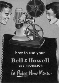 Bell & Howell 273 8mm Movie Projector Owner's Manual