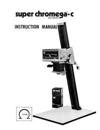 Omega Super Chromega-C Dichroic Color Photo Enlarger Instruction Manual