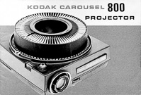 Kodak Carousel 800 Slide Projector Owners Manual
