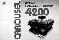 Kodak Carousel 4200 Slide Projector Owners Manual