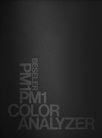 Beseler PM1 Color Analyzer Owners Manual