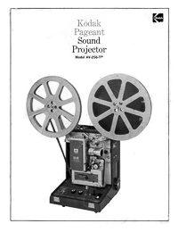 Kodak Pageant Sound AV-256-TR Movie Projector Owner's Manual